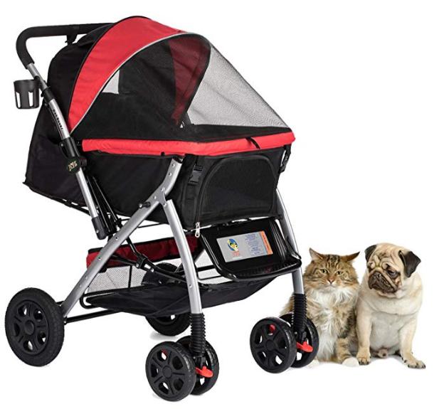 HPZ Pet Rover Premium Heavy Duty Pet Stroller