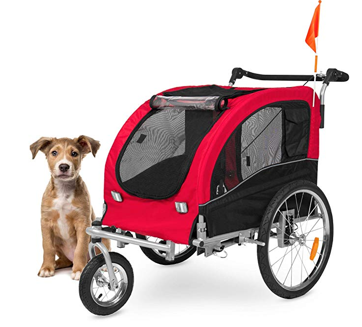 Best Choice Products 2-in-1 Pet Stroller