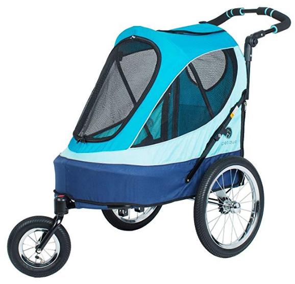 Petique All Terrain Jogger-Sailboat Pet Stroller