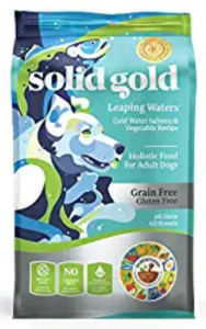 Solid Gold High Protein Grain-Free Cold Water Salmon & Krill Meal Recipe Adult Dry Dog Food