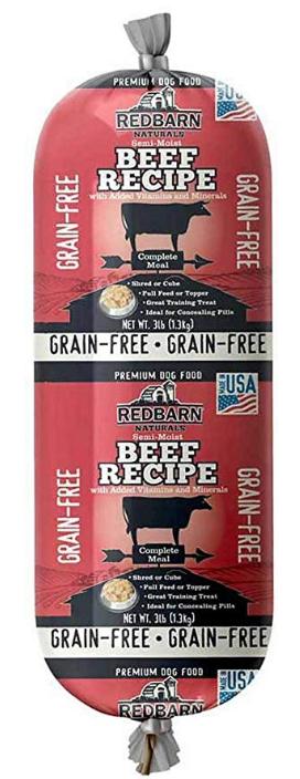 Redbarn Grainfree Rolled Dog Food Beef