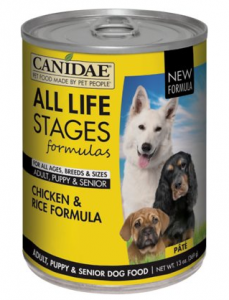 CANIDAE Life Stages Chicken & Rice Formula Canned Dog Food