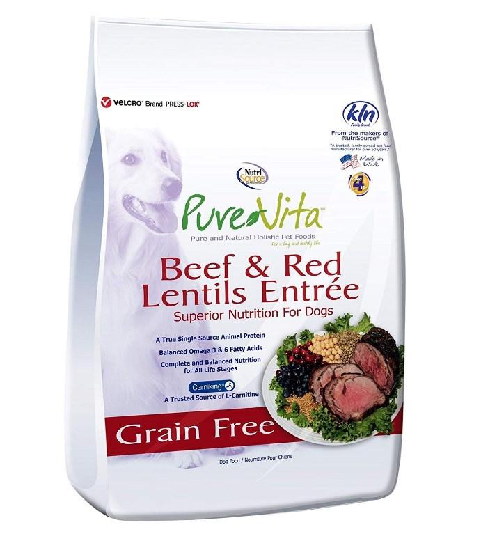 Grain-Free Beef & Red Lentils Formula