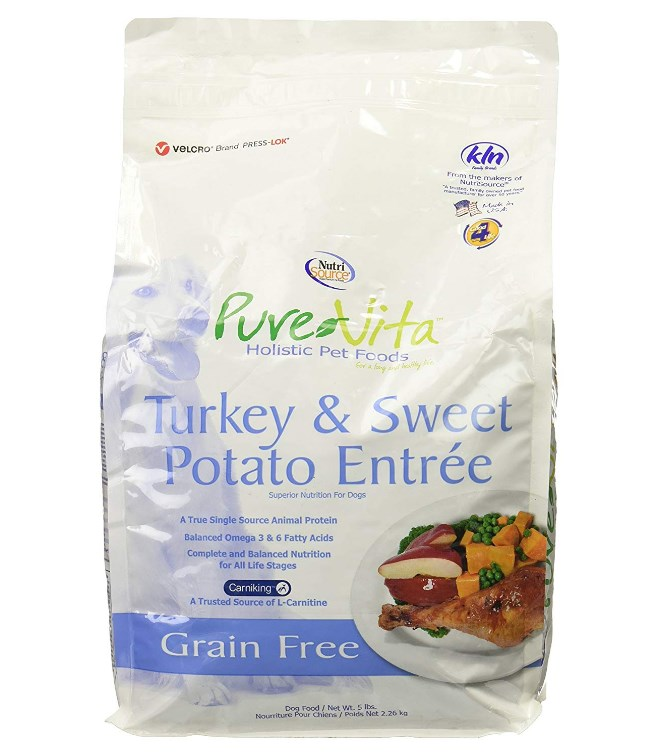 Grain-Free Turkey Formula With Sweet Potatoes