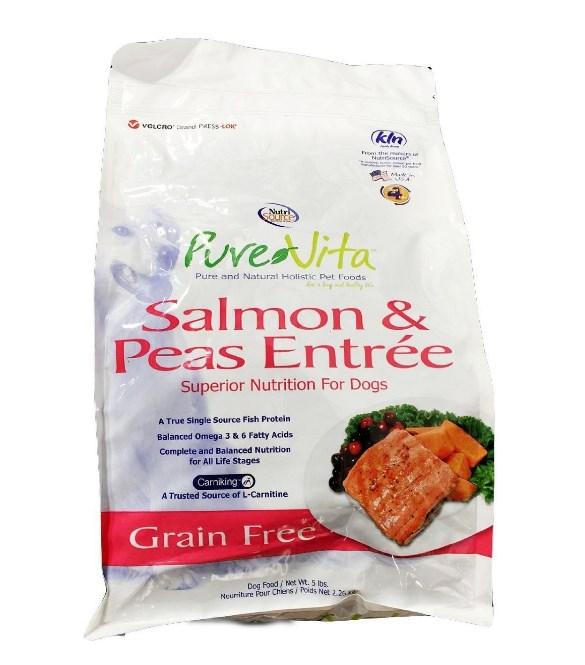 Grain-Free Salmon & Peas Formula