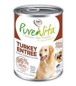 Grain Free Turkey & Turkey Liver Canned Dog Food