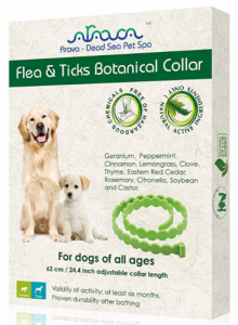 Arava Flea & Tick Prevention Collar- For Dogs and Puppies