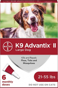 Bayer K9 Advantix 11 Flea, Tick and Mosquito Prevention