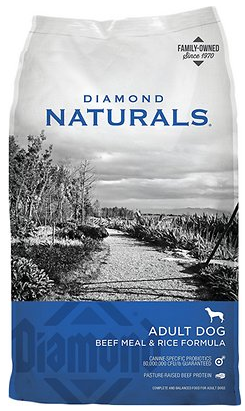 Naturals Beef Meal & Rice Formula Adult