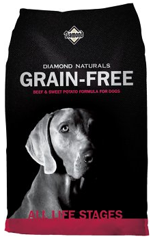Naturals Grain-Free Beef & Sweet Potato Formula