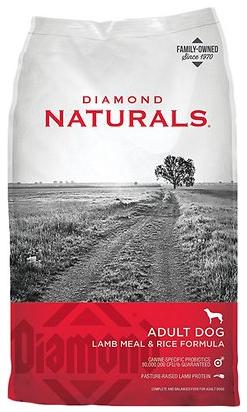 Naturals Lamb Meal & Rice Formula Adult