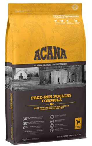 Acana Heritage Free Run Poultry Dog Food
