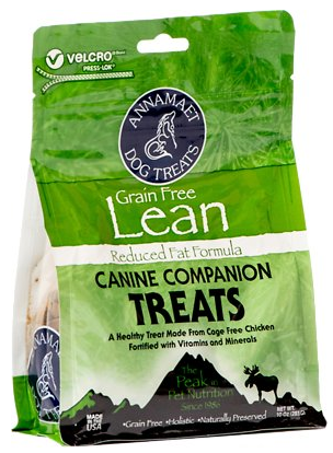 Annamaet Grain-Free Lean Formula Dog Treats