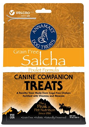 Annamaet Grain-Free Salcha Poulet Formula Treats