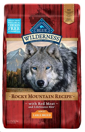 Blue Buffalo Red Meat Dry Dog Food