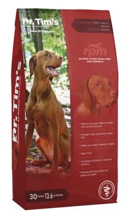 Dr. Tim's RPM All Natural Salmon & Pork Grain-free Formula