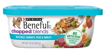Beneful Chopped Blends with Beef