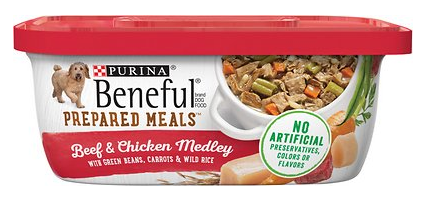 Beneful Prepared Meals Beef & Chicken Medley
