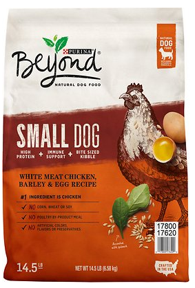 Beyond Small Dog Chicken, Barley & Egg