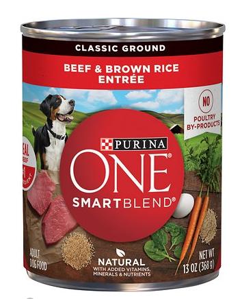 SmartBlend Beef & Brown Rice Entrée – Classic