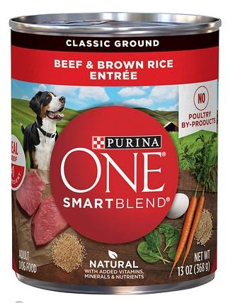 SmartBlend Beef & Brown Rice Entree Adult Dog Food