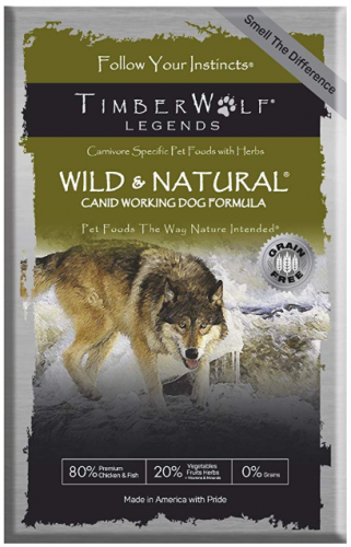 Timberwolf Wild & Natural Formula