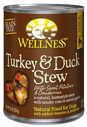 Turkey & Duck Stew with Sweet Potatoes
