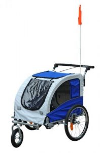 Aosom Elite II 2-In-1 Trailer & Stroller