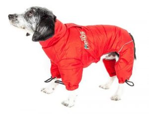 doghelios thunder crackle full body dog jacket
