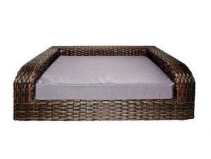 Iconic Pet Rattan/Wicker Pet Sofa Bed