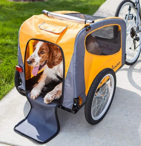 schwinn rascal tow-behind bike pet trailers for small and large dogs