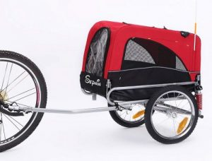 Sepnine 2-In-1 Bike Trailer