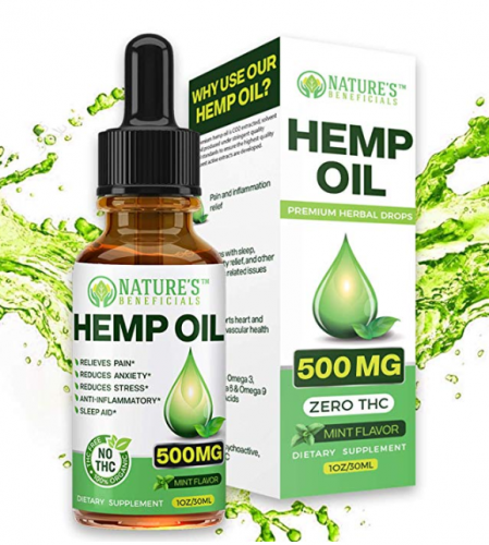 Image of Organic Hemp Oil