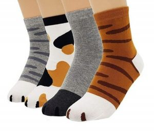 JJMax Animal Prints Unisex Socks, Pack of 4