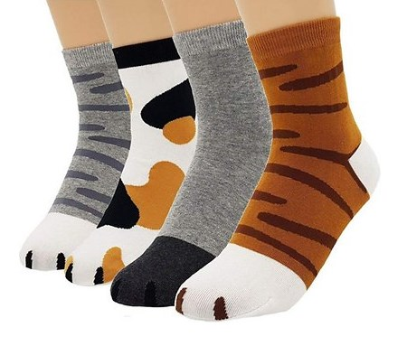 jjmax animal prints unisex socks
