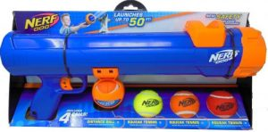 Nerf Dog Blaster With Tennis Balls Dog Toy Kit
