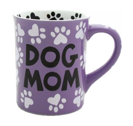 our name is mud dog mom coffee mug