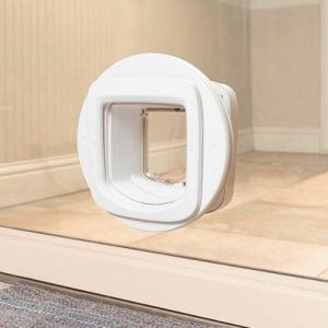 PetSafe 4-Way Locking Microchip Entry Cat Door