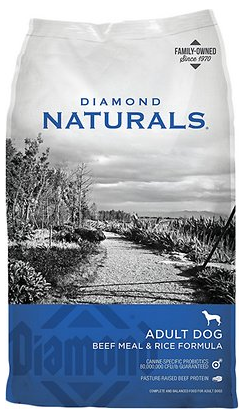 Diamond Naturals Beef Meal & Rice Formula