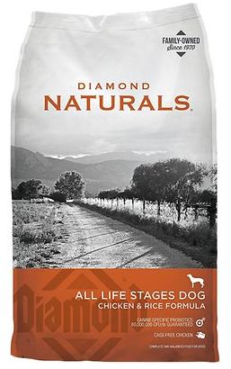 Diamond Naturals Chicken & Rice Formula