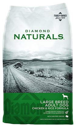 Diamond Naturals Large Breed Adult Chicken & Rice Formula