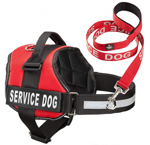 Industrial Puppy Service Dog Vest with Hook and Loop