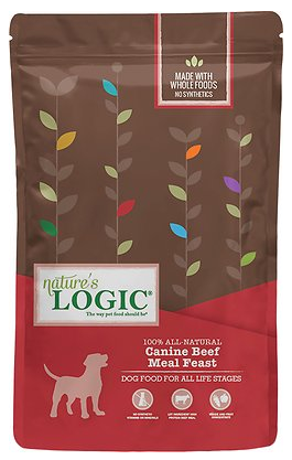 Nature\'s Logic Dry Beef For Dogs