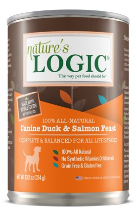 Nature\'s Logic Canned Food Duck & Salmon