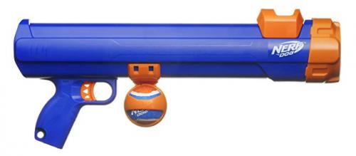 Nerf Dog Blaster With Tennis Balls