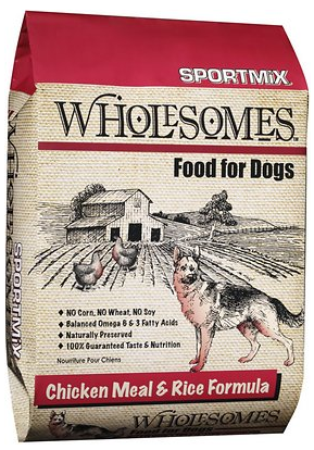 Chicken Meal and Rice Formula Dry Dog Food