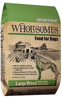 Large Breed with Chicken Meal Adult Dry Dog Food