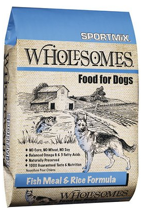 Fish Meal & Rice Formula Adult Dry Dog Food