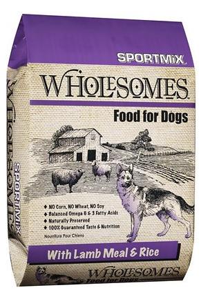 Lamb Meal and Rice Formula Dry Dog Food