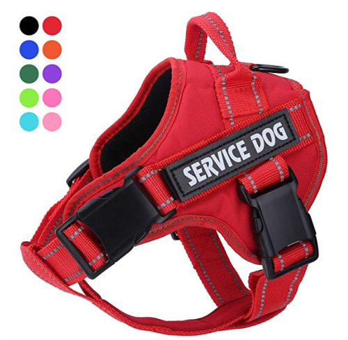 Service Dog Harness, No Pull Dog Harnesses with Handle